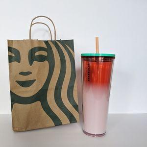 Starbucks Pink Ombre Venti Tumbler